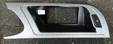 AUDI A4 B8 Center Dash Display Trim Bezel W/ Buttons 8K1857186G