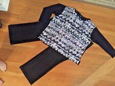 All New! Women's Pls Sz Outfit: NWT 3X Top; NWT 22W Jeans; NWOT Necklace