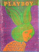 Playboy December 1967 Centerfold Lynn Winchell  Cover Psychedelic Johnny Carson