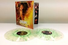 Escape from L.A. Score Vinyl 2 LP SET John Carpenter Soundtrack LMT Green Splatt