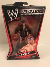 WWE Mattel Elite Series 9 Zack Ryder Action Figure Wrestling w/ Box 2010