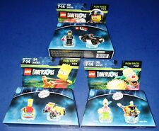 Lego Dimensions The Simpsons Krusty #71227 + Bart #71211 + Bad Cop #71213 *New!