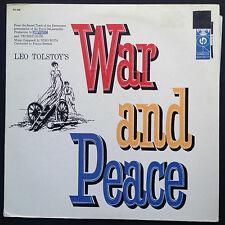 Nino Rota WAR AND PEACE Film Soundtrack OST LP 1956 Tolstoy Audrey Hepburn Fonda