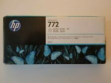 Genuine Original Unused & Boxed HP 772 Ink Cartridge 300ml - Light Gray CN634AE