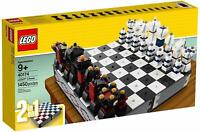 LEGO 40174 2-in-1 Iconic Chess & Checkers Set - Brand New In Box - Free Post!