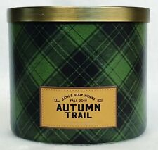 1 Bath & Body Works Autumn Trail Large 3-Wick Scented Candle 14.5 oz