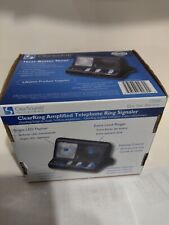 Clear Sounds CR200 ClearRing Amplified Telephone Ring Signaler - New