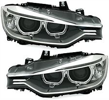 BMW 3 F30 / F31 Headlights Headlamp Silver (PAIR)