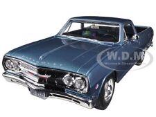 1965 CHEVROLET EL CAMINO BLUE 1/25 DIECAST MODEL CAR BY MAISTO 31977