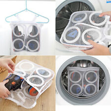 Utility Sneaker Sports Laundry Net Wash Washing Cleaner Hanging Bag Shoes Boot