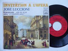 Invitation a l opera JOSE LUCCIONI Herodiade Aida ROVL 9017