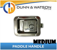 Medium Paddle Handle (Lock, Latch) x1 Camper Trailer, Caravan Toolbox, Motorhome