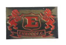 New Zealand's ENWOOD football Club enamel badge/pin size 30 x 20 mm