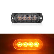 Car Truck Warning Caution Hazard Emergency Beacon Strobe Lights Lamps 18W 4-LED
