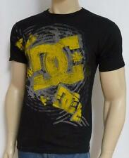 DC Shoes Reverberation Black 100% Cotton T-Shirt New NWT Mens Small