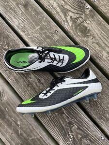 Nike Hypervenom Phantom 1 FG Mens Size 10 US Rare White/Green/Black 588843-031