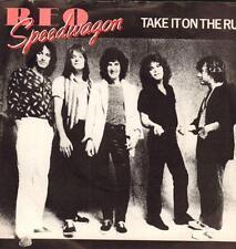 "Reo Speedwagon(7"" Vinyl P/S)Take It On The Run-Epic-EPC A 1207-UK-1981-VG+/VG"