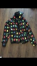 Sessions Snowboarding Jacket, Multi color size Small Brand New