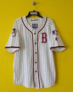 ⚾ BOSTON RED SOX VTG STARTER MLB JERSEY MENS -M