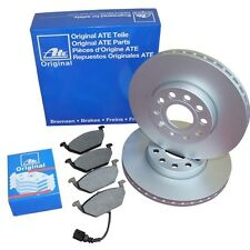 ATE discos de freno 282mm + Cerámico Pastillas freno AUDI SEAT SKODA VW