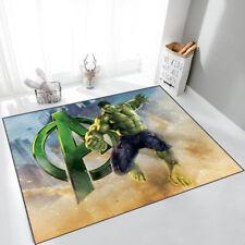 Avengers Hulk Cosplay Area Rug Modern Home Decor Bedroom Floor Mat Soft Carpet
