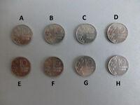 Münze Coin Finnland 10 Penniä Pfennig Pennies verschiedene zur Auswahl Finland