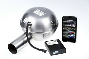 THOR electronic exhaust, 1 loudspeaker, Active Sound Booster with APP Control