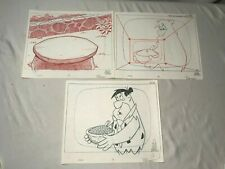 Original Flintstones Cartoon Fruity Pebbles Animation Art Sketches Scott Shaw