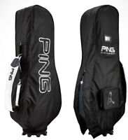 Ping Golf Club Bag Black Travel Cover Air Flight Cover Sporting Goods_imga