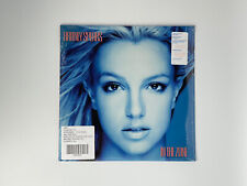 Britney Spears-In the Zone Limited UO Clear Vinyl With Blue Splatter