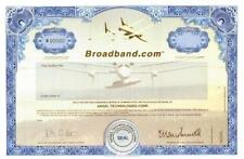 Broadband.com (Dot Com High Flyer) shows airplane designed by Burt Rutan 1998