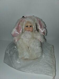 Jacqueline Kent Persanimals Easter Bunny Soft Plush Doll Tags Dust Bag 345416