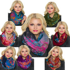 Bunte geometrische Damen-Schals-Muster