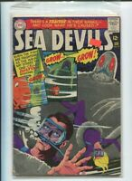 SEA DEVILS #27 VG/FN A Traitor in their Ranks! Silver Age DC Comics 1966