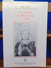 Fédou Les papes du Moyen âge à Lyon...