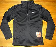 NWT The North Face Mens Stretch Smooth 100 Cinder Fleece Jacket L LARGE BLACK