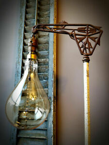 Grand Nostalgic Edison Light Bulb Oversized Teardrop Shape 60w Incan. Filament