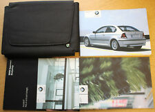 BMW 3 SERIES COMPACT E46 HANDBOOK OWNERS 2001-2004 PACK 10311