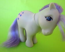 "Vintage 80's MLP G1 El Greco Greek My Little Pony ""Elsi"" Blue Belle Purple Hair"