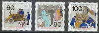 Germany 1990 MNH Mi 1474-1476 Sc B694-B696 Post office.Telephone.Postal vehicle