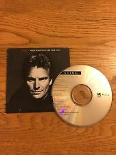 Sting The Police Usa PROMO Cardboard Cd Single 1991 Why Should I Cry For You ?