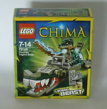 Lego Legends of Chima 70126 - Krokodil Legend-Beast 7 - 14 JAHRE -NEU-