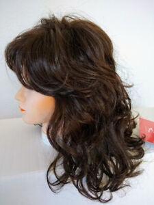 Jon Renau JESSICA Medium Wavy Wig Color 6 Brown Style 5127 Classic Cap