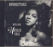 NATALIE COLE - Unforgettable with love - CD 1991 USATO OTTIME CONDIZIONI