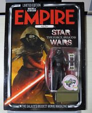 STAR WARS EMPIRE MAGAZINE LIMITED EDITION KYLO REN LENTICULAR COVER  EXCL FIGURE