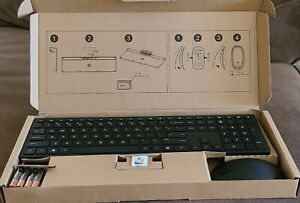 HP Pavilion Wireless Keyboard and Mouse 800, Swiss Combo Black