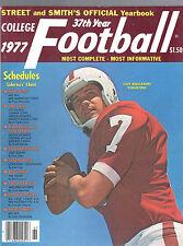 1977 STREET & SMITH COLLEGE FOOTBALL YEARBOOK MAGAZINE-GUY BENJAMIN-STANFORD
