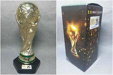 "PVC Mcdonalds 2010 Replica South Africa FIFA World Cup Trophy 6.5"" 16.5cm Brazil"