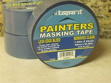 FOUR - 180 FOOT ROLLS - 60 Yards Each - BLUE PAINTERS TAPE