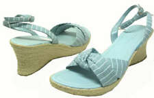 Kenneth Cole Stripping Hot Clear Blue Color Womens 8.5M